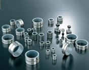Cylindrical Roller Thrust Bearings  Cylindrical roller thrust bearings are individual components that can be mounted separately. They are single direction bearings and are used to accommodate high axial load in one direction with moderate speed. As this bearing is used in higher speed applications they require oil lubrication. http://www.hrbearings.net/cylindrical-roller-thrust.html