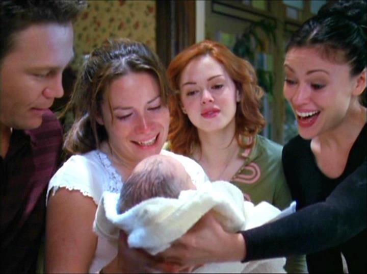 The birth of Wyatt Matthew Halliwell~
