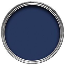 Dulux Weathershield Exterior Satin Paint Oxford Blue 750ml... front door colour!?