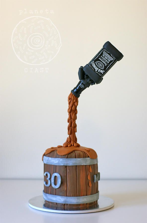 Jack+Daniels+-+Cake+by+Magdalena_S