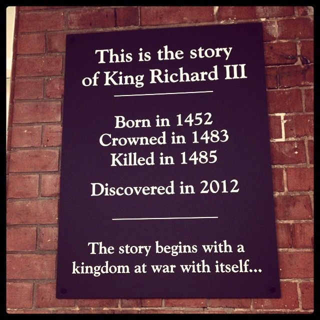 King Richard III Visitor Centre in Leicester, Leicester