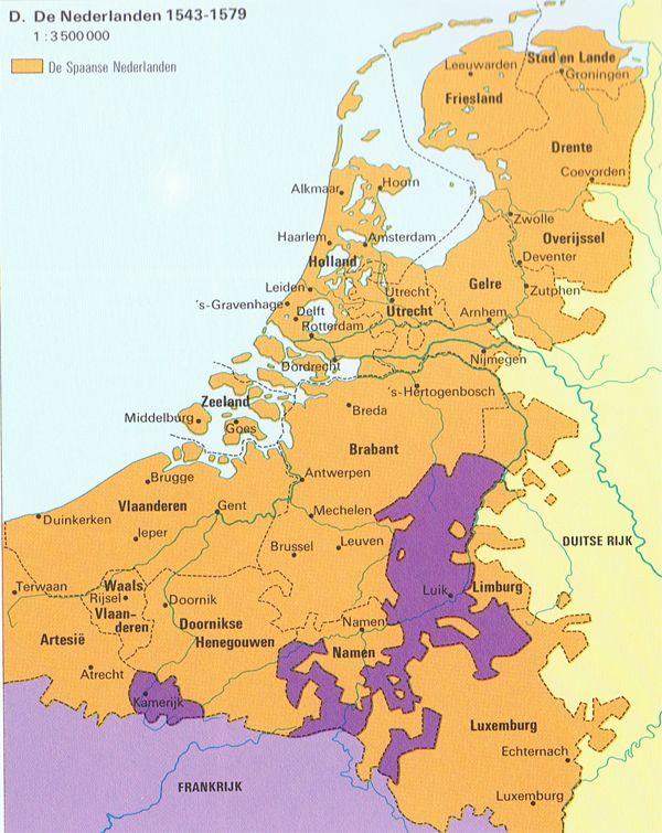 Het ontstaan van Nederland