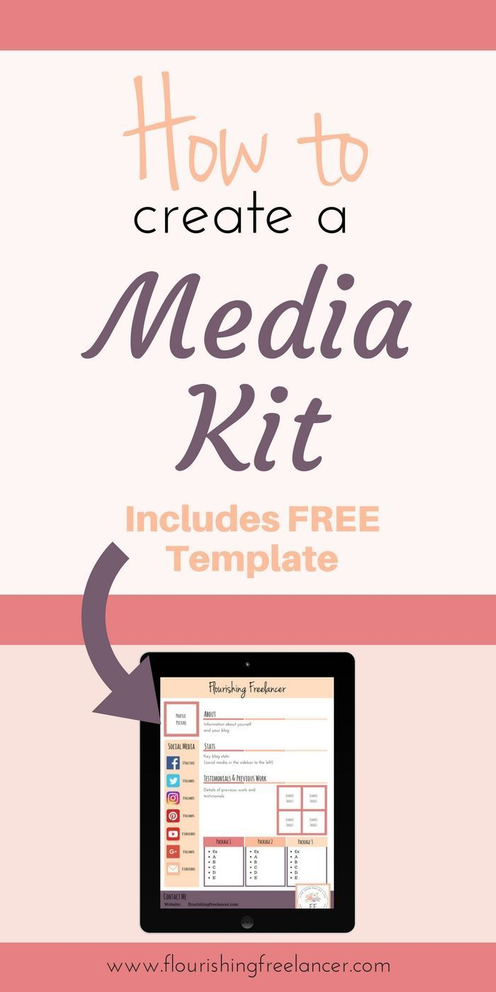115 best Media Kits images on Pinterest | Media kit, Blogging and ...