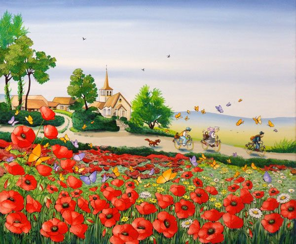 Les peintures naïves de Charlotte Lachapelle