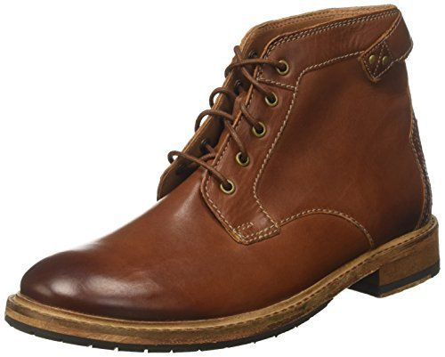Clarks Clarkdale Bud, Bottes Homme: Clarkdale Bud, bottines en cuir brun pour Homme. Ces low boots pour Homme témoignent du savoir-faire…