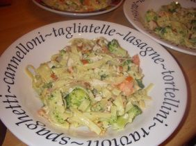 Tagliatelle met kip en broccoli - Tips van Ingrid