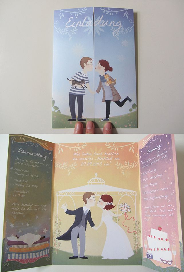 cool wedding invitation!!
