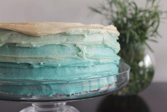 торт омбре своими руками