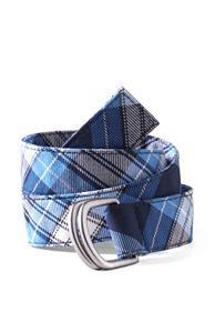 School Uniform Girls Plaid Belt
