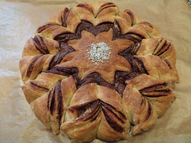 Nutelová hvězda :: Lenůlina kuchařka
