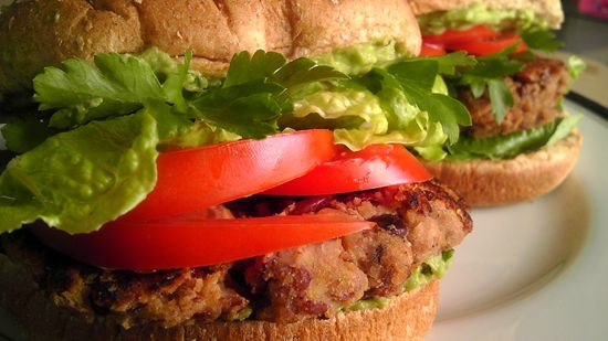 Black Bean & Veggie Burgers - a super healthy and cancer-fighting recipe sure to wow even the meat lovers among you.