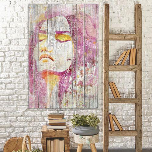 les 22 meilleures images du tableau tableau deco noir et blanc effet bois sur pinterest. Black Bedroom Furniture Sets. Home Design Ideas