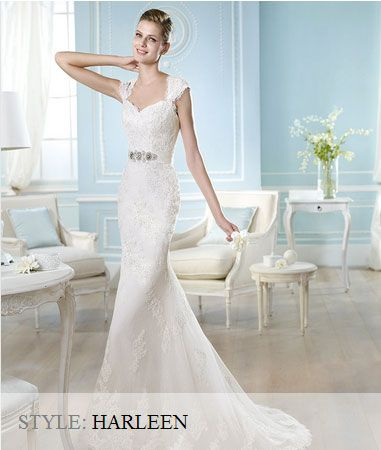San Patrick Wedding Gown - 2014 Costura Collection - Harleen