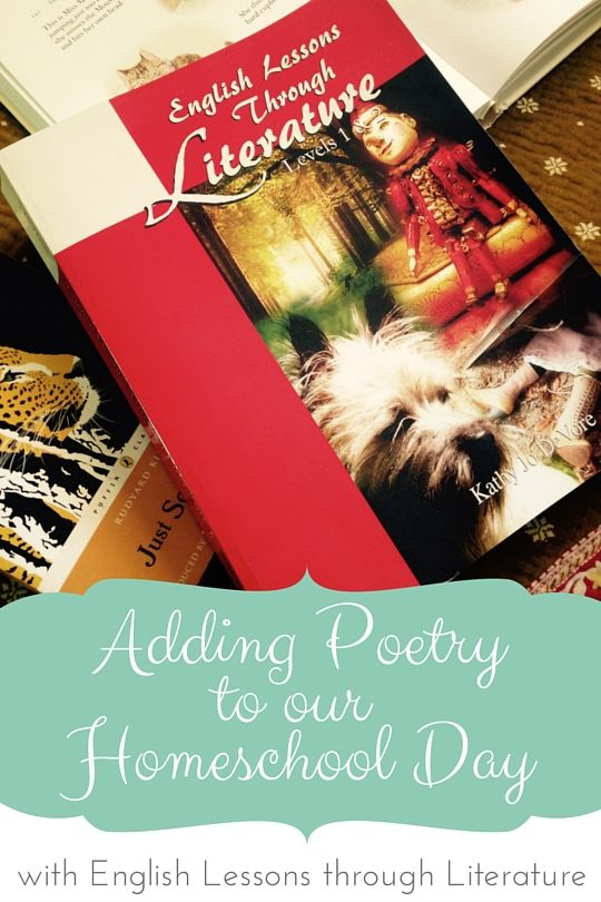 Adding Poetryto our Homeschool Day