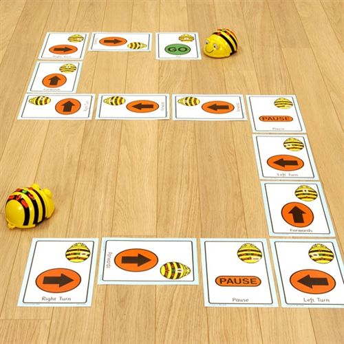 Bee-Bot/Blue-Bot Giant Sequence Cards – Leanne Sorensen