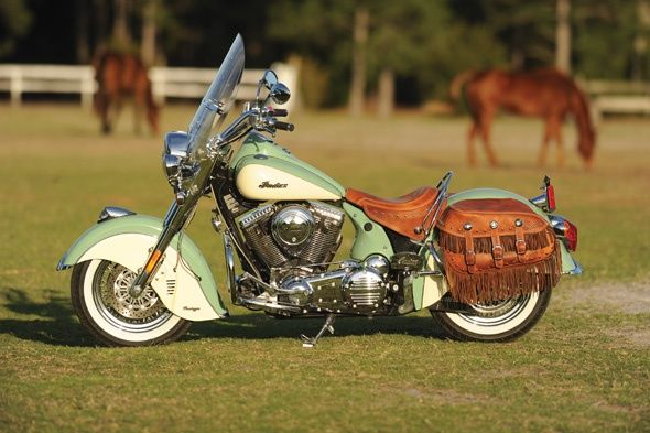 Vintage Harley Davidson Paint Schemes | 2011 Indian Chief Vintage Motorcycle Review | Harley Baggers ...