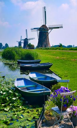 Always beautiful Holland Copyright: William Carr via 1,000,000 Amazing Photos ♥♥♥ - Community - Google+