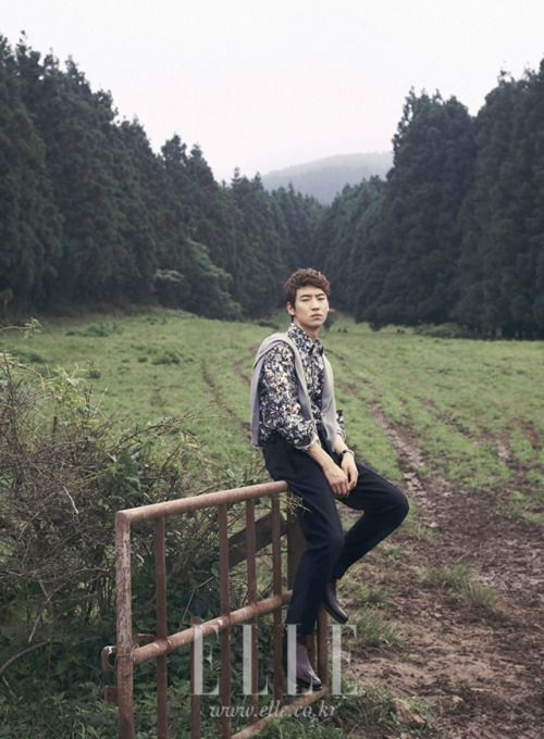 Lee Je Hoon - Elle Magazine September Issue '12
