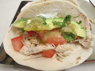 Sweet Beginnings: Taco Tuesday: Lime Chicken Soft Tacos | Mexican ...