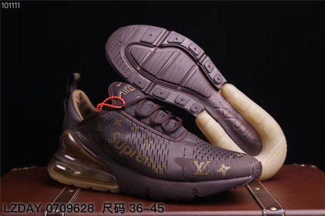 Nike Air Max 270 Louis Vuitton Supreme Shoes SG73 $30.90USD (met