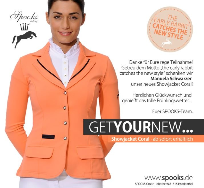 This Coral Jacket by SPOOKS is very innovative !!!