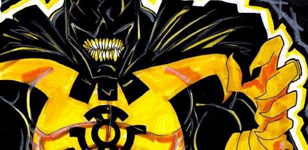 Parece que a Tropa Sinestro fará sua presença ser sentida no universo Smallville em Junho. Batman receberá o anel amarelo? Clique em Leia Mais e confira a sensacional capa de Cat Staggs! Uma chuva de estrelas amarelas cai sobre Gotham City ao mesmo tempo em que Superman e Lanterna Verde enfrentam uma ameaça do passado …