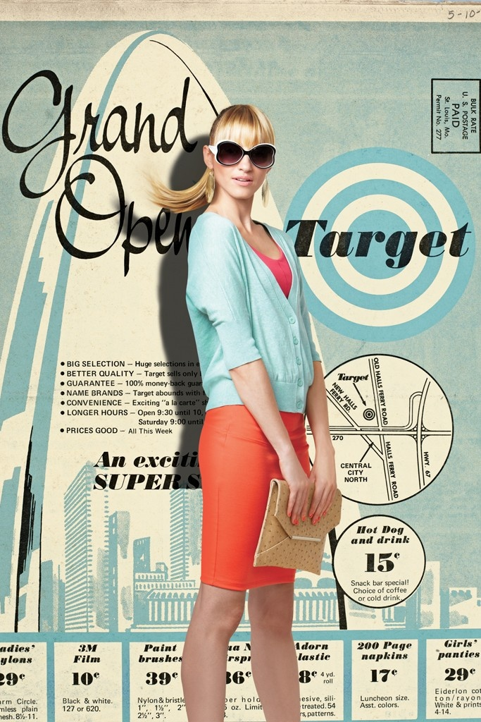 Target Advertising: Using 60's ads now