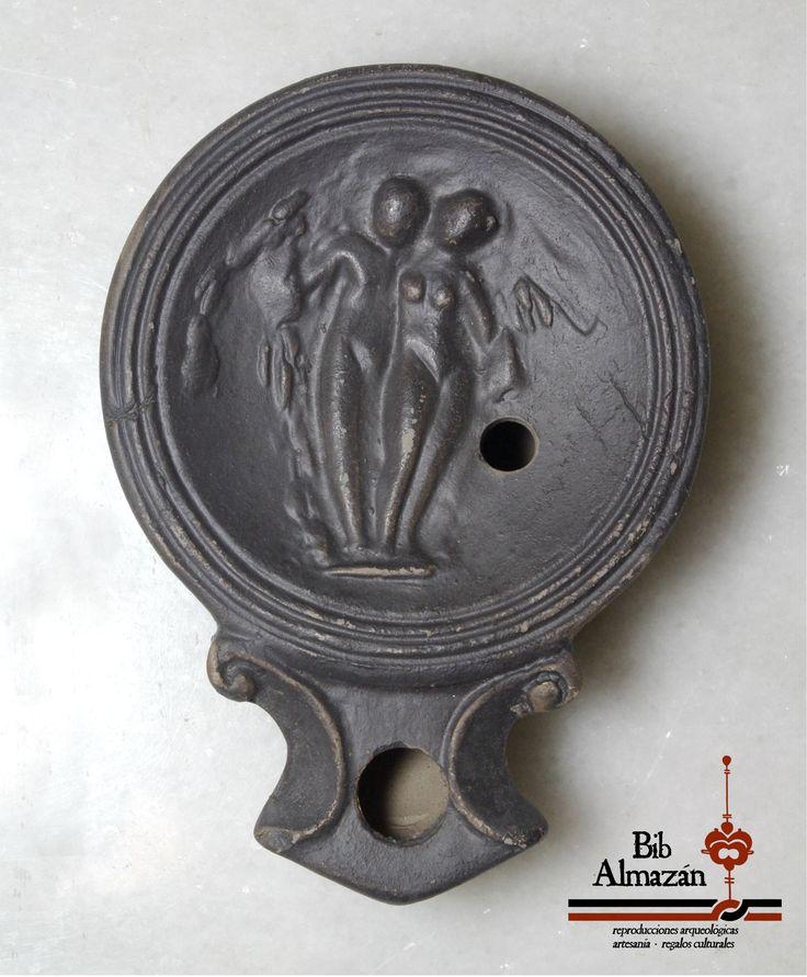 Lucerna romana de cerámica / Roman oil lamp