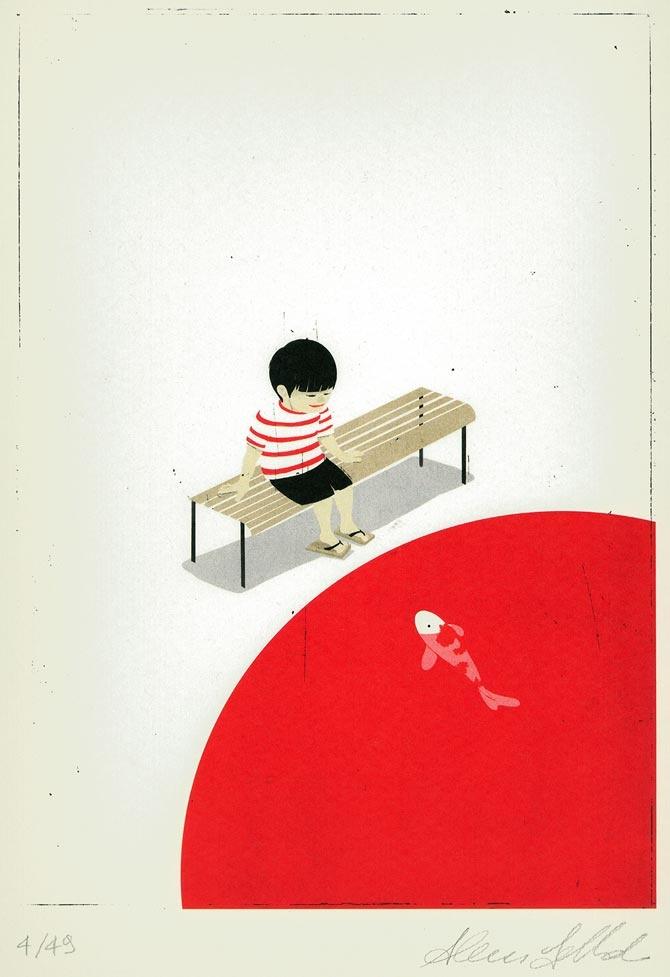 Alessandro Gottardo | I love Japan, on Galleria dell'Incisione.