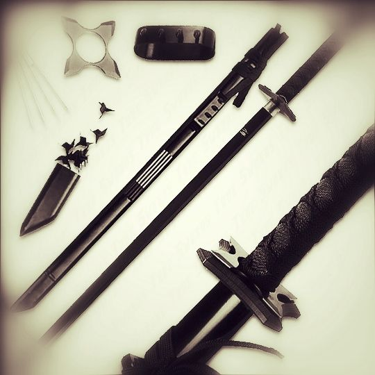 Ninja weapons -K Simmons