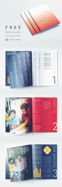 Free Indesign Modern Business Brochure Template Download From Indesignskills Indesign Templates Free Brochure Template Indesign Templates