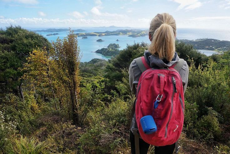 Weekend wanderings with a view  and our little @sonynz speaker providing the tunes  #spon - @theglobalcouple on Instagram