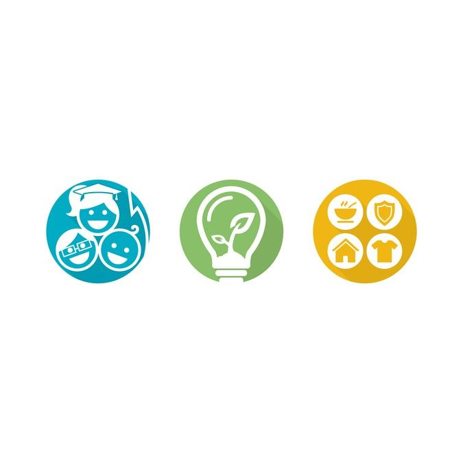 Create our first ever corporate responsibility program icons! by TheoYip