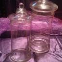 Large & Medium Tall Apothecary Jars