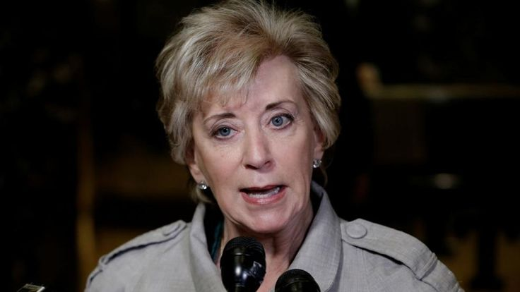 Trump's $100 Million Woman: How Linda McMahon Bought Her Way Into Politics - In her six-year quest to become a political player, former World Wrestling Entertainment CEO Linda McMahon has spent money like a drunken sailor on steroids.