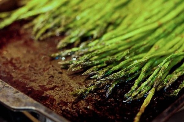 Simple Oven Roasted Asparagus Recipe - this is how we eat it at our ...