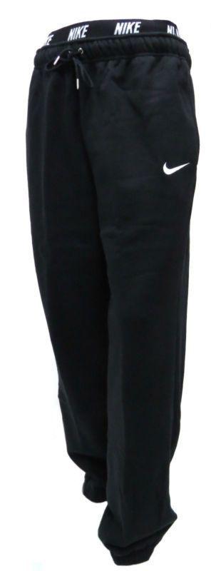 New Men Nike Fleece Joggers Tracksuit Bottoms Track sweat Jogging Pants Black   eBay