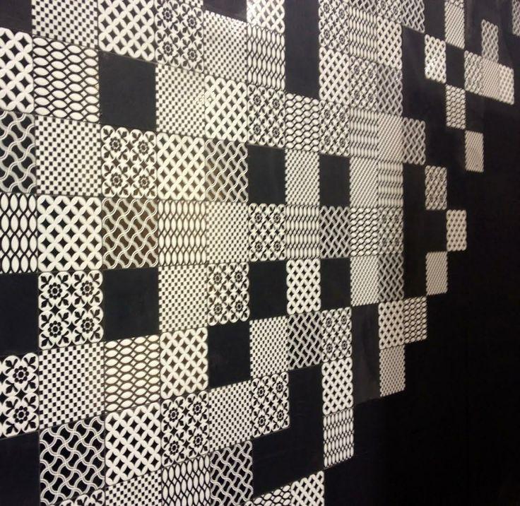 modern patchwork tile deco d 39 antan by tagina patterns pinterest patchwork tiles. Black Bedroom Furniture Sets. Home Design Ideas