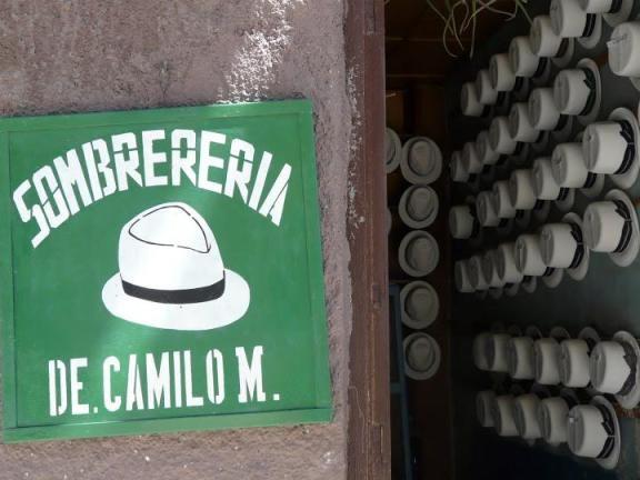 Sombreria à Cuenca//Museo del Sombrero//Calle Larga, Cuenca, Équateur