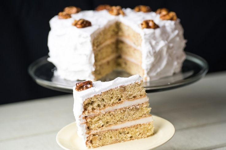 Mary Berry's Walnut Cake from The Great British Baking Show