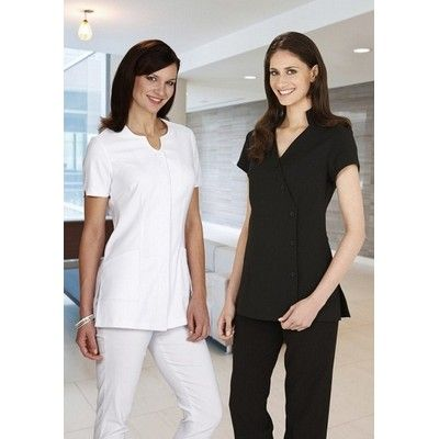 Womens Natural Tunic Min 25 - Clothing - Business Shirts - Her Business Wear - BC-H133LSS1 - Best Value Promotional items including Promotional Merchandise, Printed T shirts, Promotional Mugs, Promotional Clothing and Corporate Gifts from PROMOSXCHAGE - Melbourne, Sydney, Brisbane - Call 1800 PROMOS (776 667)