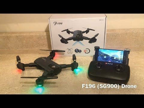 F196 (SG900) Drone Review (GearBest) | Drony | Drony