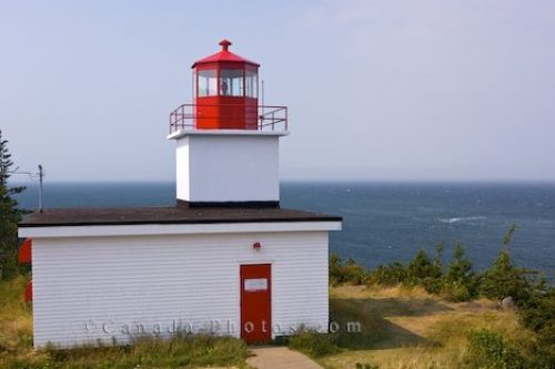 Picture of Long Eddy Point Lighthouse Grand Manan New Brunswick