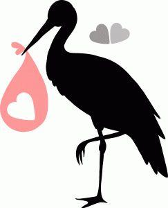 Silhouette Design Store - View Design #78544: stork