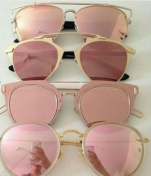 See the world through rose-colored glasses