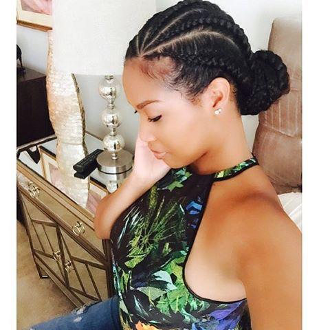 Astounding 1000 Ideas About Natural Hair Braids On Pinterest Protective Short Hairstyles For Black Women Fulllsitofus