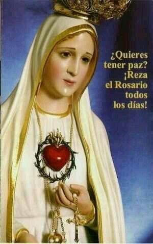 9 best virgen de ftima images on pinterest catholic religious reza el rosario fandeluxe Images