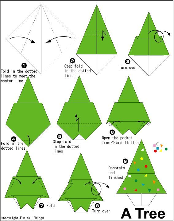 Pin By Lily Vzqz On Paper Crafts Christmas Origami Origami Christmas Tree Origami Xmas