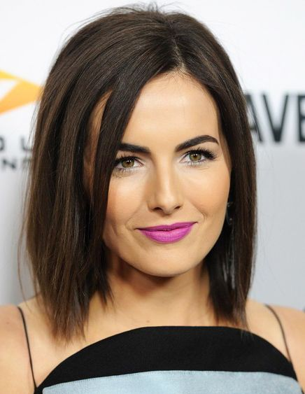 Magenta #Lipstick Color is Trending for Spring Summer 2014 | Camilla Belle in violet magenta lips #trendy #makeup