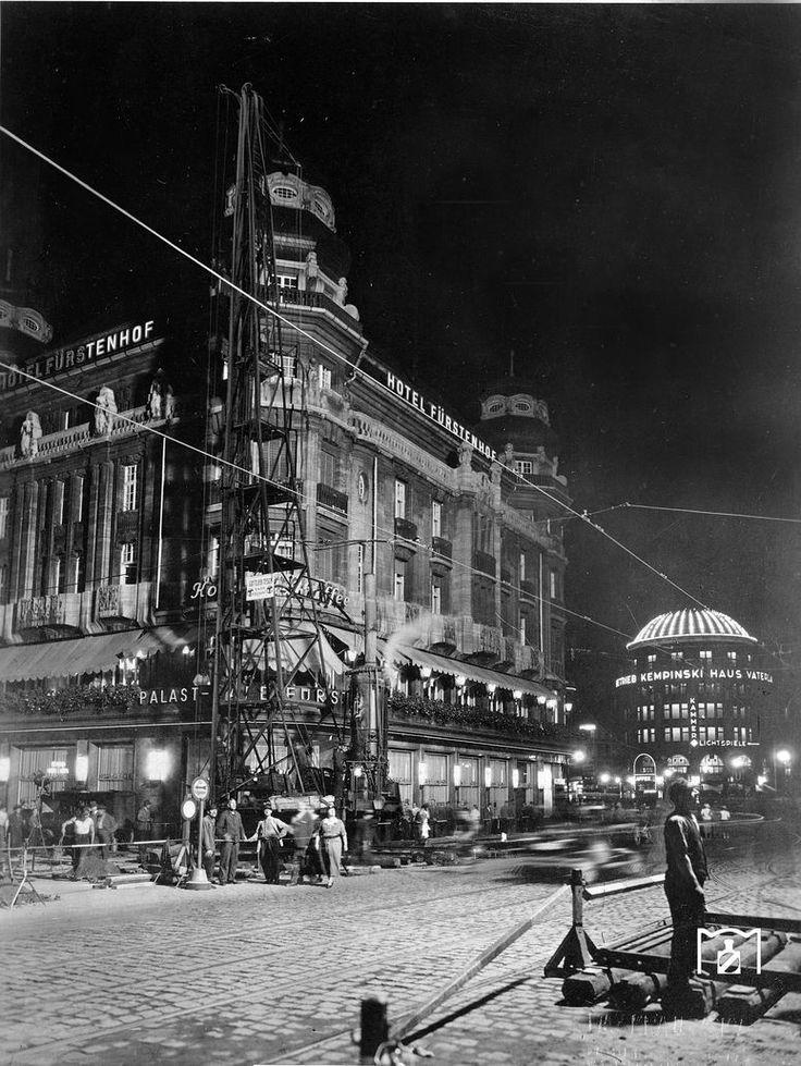 1938 Bau der Nord-Sued S-Bahn am Potsdamer Platz